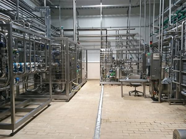 Sanbuena instalaciones Quesos y Cremas calidad e higiene