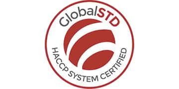 Global STD HACCP SYSTEM CERTIFIED