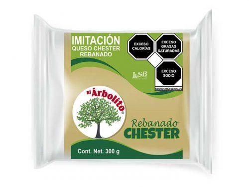 LSB - Imitación Queso Chester Rebanado 300 g