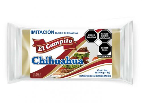LSB - Imitación Queso Chihuahua 453.59 g