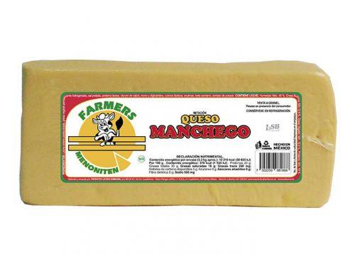 BARRA IMITACIÓN QUESO MANCHEGO FARMERS MENONITEN 3,3 kg
