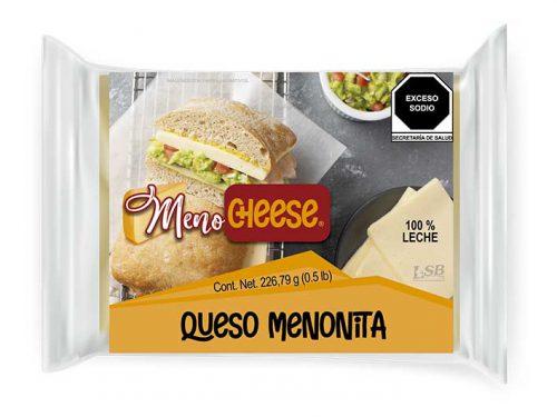 MINI BARRA QUESO MENONITA MENO CHEESE 226,79 g 0.5 lb pz