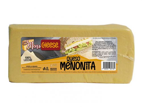 BARRA QUESO MENONITA MENO CHEESE 3,3 kg