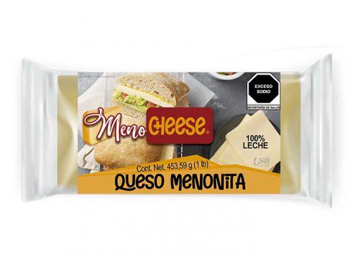 CUADRITO QUESO MENONITA MENO CHEESE 453,59 g 1 lb pz