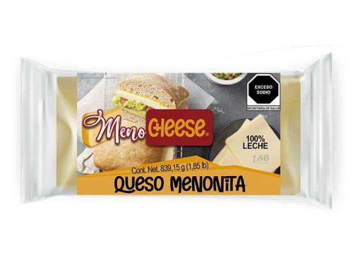 MEDIA BARRA QUESO MENONITA MENO CHEESE 839,15 g 1.85 lb pz