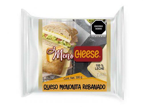 REBANADO QUESO MENONITA MENO CHEESE 300 g pz