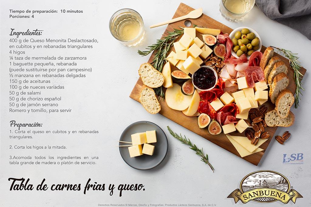 SANBUENA_Premium_Tabla de carnes frías y queso