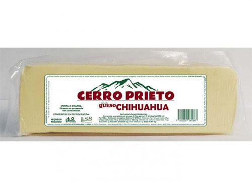 BARRA IMITACIÓN QUESO CHIHUAHUA CERRO PRIETO 2,5 kg