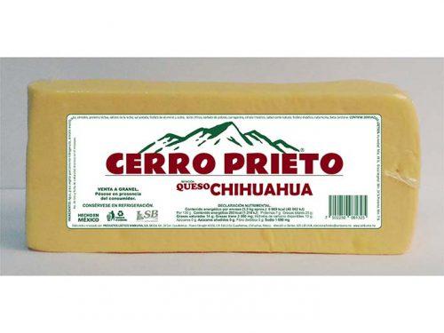 BARRA IMITACIÓN QUESO CHIHUAHUA CERRO PRIETO 3,3 kg