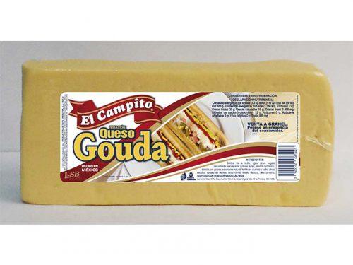 BARRA IMITACIÓN QUESO GOUDA EL CAMPITO 3,3 kg