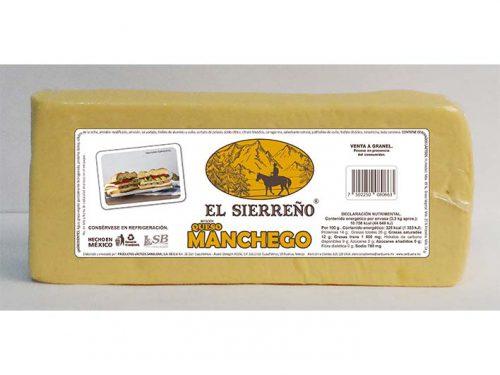 BARRA IMITACIÓN QUESO MANCHEGO EL SIERREÑO 3,3 kg