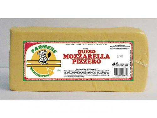 BARRA IMITACIÓN QUESO MOZZARELLA PIZZERO FARMERS MENONITEN 3,3 kg
