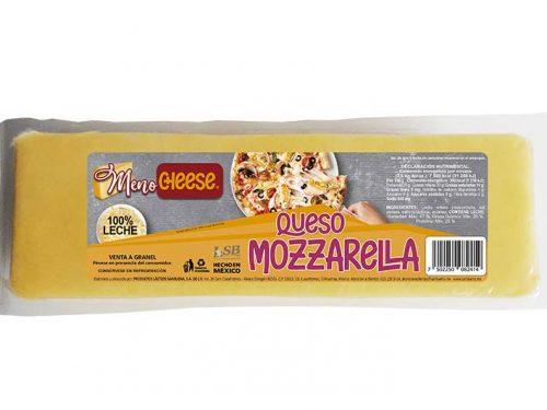 LSB - BARRA QUESO MOZZARELLA MENO CHEESE 2.5 KG