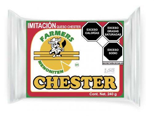 MINI BARRA IMITACIÓN QUESO CHESTER FARMERS MENONITEN 240 g pz
